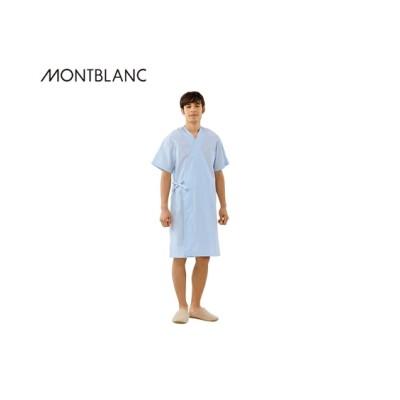 MONTBLANC 59-501 検診衣ガウン式(半袖)(男女兼用) ナースウェア・白衣・介護ウェア