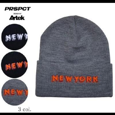 PROSPECT プロスペクト NEW YORK BEANIE ビーニー ニット帽 帽子 単品購入の場合はネコポス便発送 売り尽くし