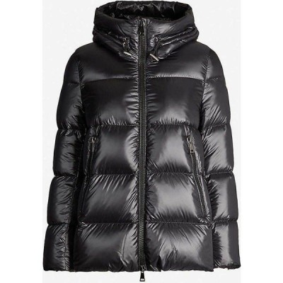 モンクレール MONCLER レディース ダウン・中綿ジャケット フード シェルジャケット アウター Seritte hooded padded shell jacket BLACK