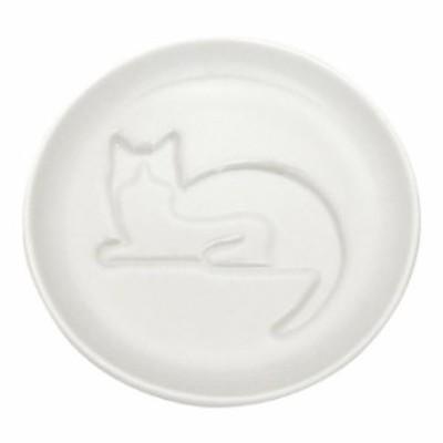 ネコ醤油皿 まつ(C) (AR0604191) 単品