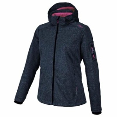 cmp シーエムピー アウトドア 女性用ウェア ジャケット cmp jacket-zip-hood-melange