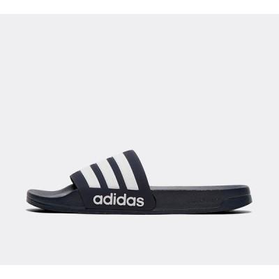 アディダス adidas メンズ サンダル シューズ・靴 adilette cloudfoam slide Navy/White