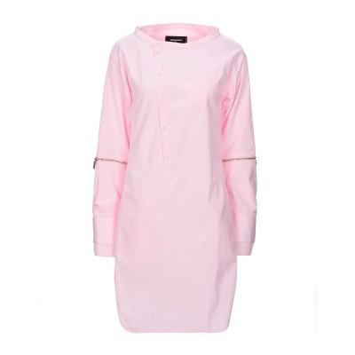 ディースクエアード DSQUARED2 ミニワンピース&ドレス ピンク 38 コットン 100% ミニワンピース&ドレス