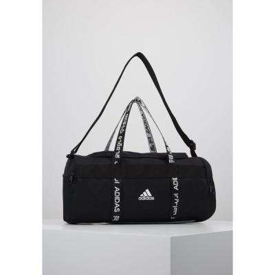 アディダス ショルダーバッグ メンズ バッグ 4ATHLTS ESSENTIALS 3STRIPES SPORT DUFFEL BAG - Sports bag - black/white
