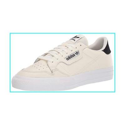 adidas Originals Men's Continental Vulc Sneaker, Off White/Off White/core Black, 13 M US