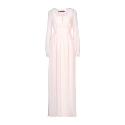 パトリティア ペペ セーラ PATRIZIA PEPE SERA ロングワンピース&ドレス ライトピンク 40 レーヨン 100% ロングワンピース