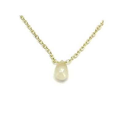 Natural 24k Gold plated Bracelet,en Rutile Necklace, Danity Stacking Neckla好評販売中