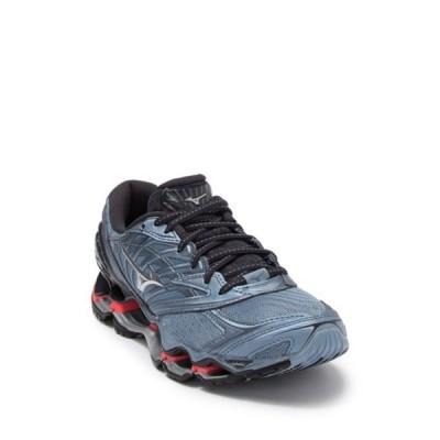 ミズノ レディース スニーカー シューズ Wave Prophecy 8 Running Sneaker CITADEL-SILVER