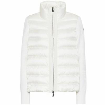 モンクレール Moncler レディース ダウン・中綿ジャケット アウター Wool and down jacket