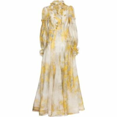 ジマーマン Zimmermann レディース パーティードレス ワンピース・ドレス botanica floral organza gown Wattle