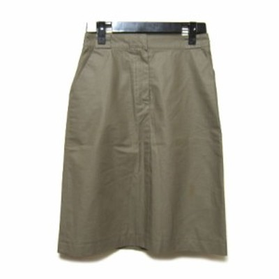MARC JACOBS 定番立体スカート khark solid skirt (マークジェイコブス) 029389【中古】