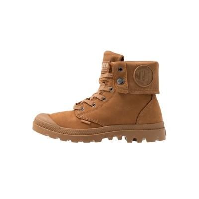 パラディウム ブーツ&レインブーツ メンズ シューズ BAGGY NUBUCK - Lace-up ankle boots - mahogany