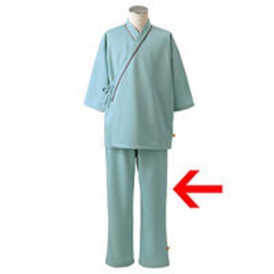 住商モンブラン住商モンブラン 検診衣(パンツ) 検査着 患者衣 男女兼用 グリーン S 79-515(直送品)