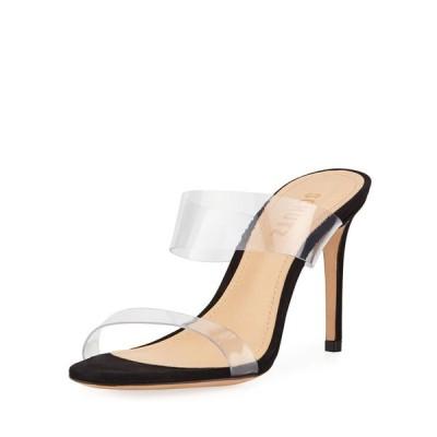 シュッツ レディース パンプス シューズ Ariella Strappy See-Through Vinyl Slide Sandals