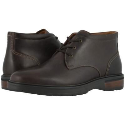 フローシャイム Florsheim メンズ ブーツ チャッカブーツ シューズ・靴 Astor Plain Toe Chukka Boot Brown Crazy Horse/Brown Sole