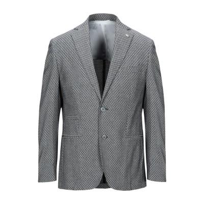 BARBATI テーラードジャケット ブラック 48 コットン 98% / ポリウレタン 2% テーラードジャケット