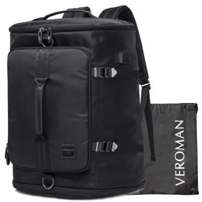 [Veroman] スポーツリュック メンズ ジムバッグ 大容量 防水 シューズ収納 (45L