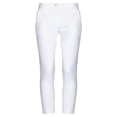I BLUES パンツ ホワイト 40 コットン 97% / ポリウレタン 3% パンツ