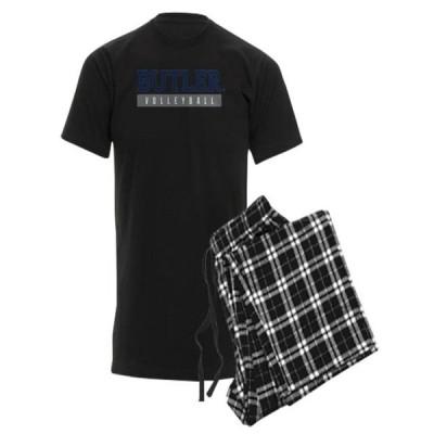 メンズ スポーツリーグ アメリカ大学スポーツ CafePress - Butler Bulldogs Volleyball Pajamas - Men's Dark Pajamas