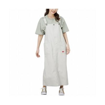 (MAC HOUSE(women)/マックハウス レディース)Dickies ディッキーズ ジャンパースカート 1182-6495/レディース グレー