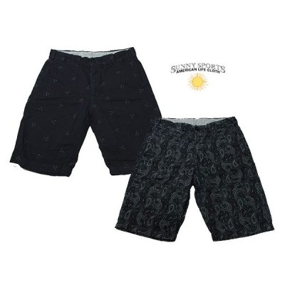 【SALE】 SUNNY SPORTS サニースポーツ ジャガード 柄物 ショートパンツ