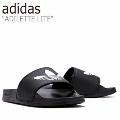 アディダス サンダル adidas メンズ レディース ADILETTE LITE アディレッタ ライト BLACK ブラック FLADAS1U11 FU8298 シューズ