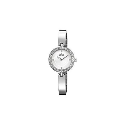 【並行輸入品】Lotus Women's Autumn-Winter 17 Quartz Watch with Stainless Steel Strap, Sil