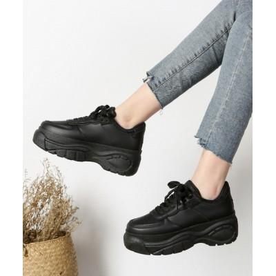 Shoes in Closet -シュークロ- / メッシュMIX厚底ダッドスニーカー《約6.0㎝ソール》 1798 WOMEN シューズ > スニーカー