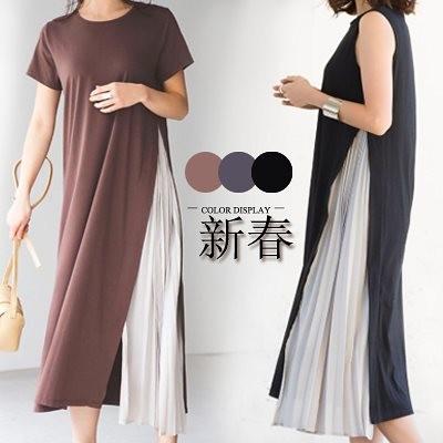高品質 韓国ファッション OL、正式な場合、礼装ドレス セクシーなワンピース、一字肩 二点セット、側開、深いOネック やせて見える、ハイウエスト半袖ドレス スカー