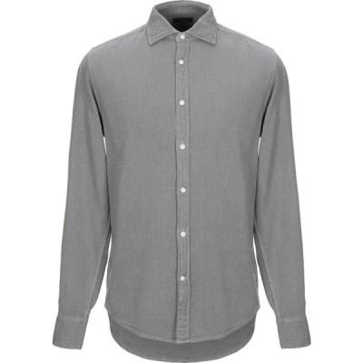 デペール DEPERLU メンズ シャツ トップス patterned shirt Grey