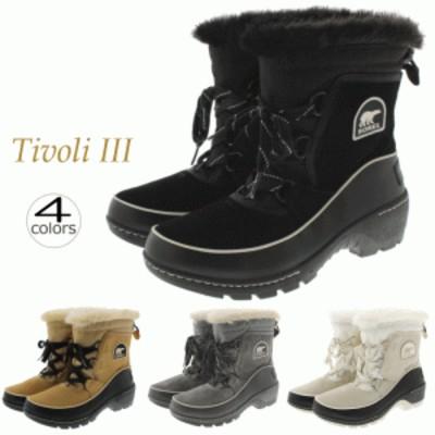 定番 ソレル SOREL ブーツ ティボリ 3 TIVOLI 3 NL2532 ブラック(010) カリー(373) クオリー(052) NL2533 フォーン(920)