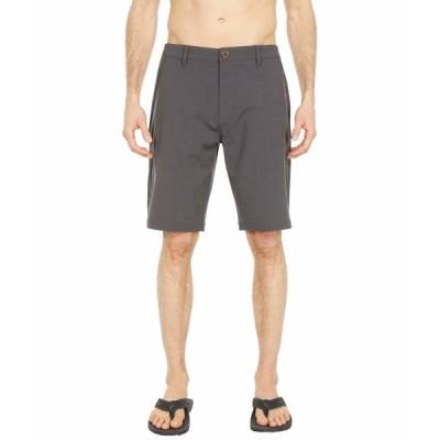 """リップカール ハーフ&ショーツ ボトムス メンズ Phase Boardwalk 21"""" Hybrid Shorts Black"""