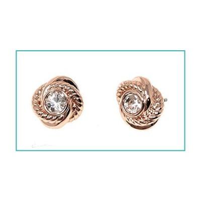 Kate Spade New York Infinity Knot Rose Gold Plated Stud Earrings【並行輸入品】