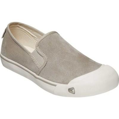 キーン メンズ スニーカー シューズ Coronado III Suede Slip On Sneaker Dove Grey