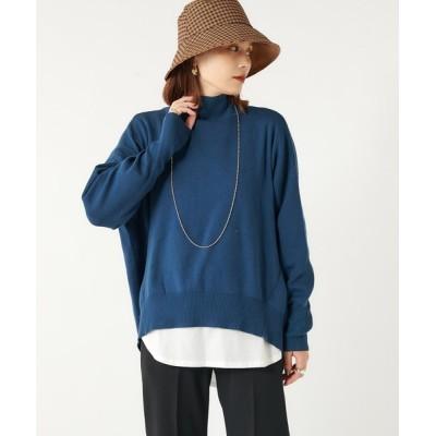 Omekashi / 変形タートルニット WOMEN トップス > ニット/セーター