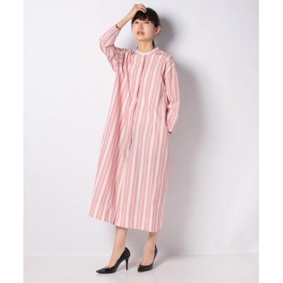 【マリンフランセーズ】 pink et rayure ワンピース レディース ピンク 99(F) LA MARINE FRANCAISE