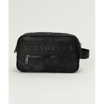 the HOUSE / 【St ANDREWS】カモフラロゴ柄 クラッチバッグ (UNISEX) WOMEN バッグ > クラッチバッグ