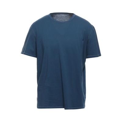 マジェスティック MAJESTIC FILATURES T シャツ ブルーグレー M コットン 100% T シャツ