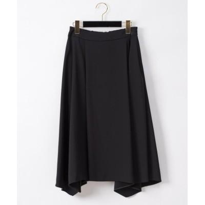 GRACE CONTINENTAL トリアセイレギュラースカート ブラック 36