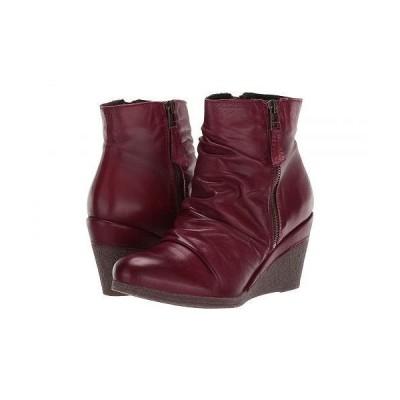 Miz Mooz ミズムーズ レディース 女性用 シューズ 靴 ブーツ アンクルブーツ ショート Baron - Bordeaux