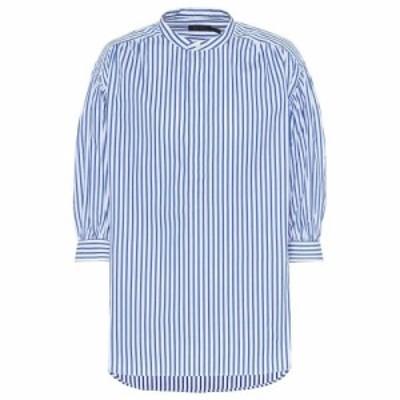 ラルフ ローレン Polo Ralph Lauren レディース ブラウス・シャツ トップス Striped cotton shirt Blue/White