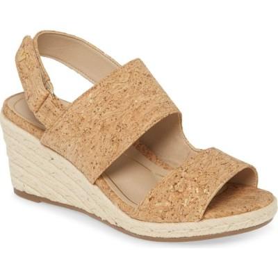 バイオニック VIONIC レディース サンダル・ミュール ウェッジソール シューズ・靴 Brooke Wedge Sandal Cork