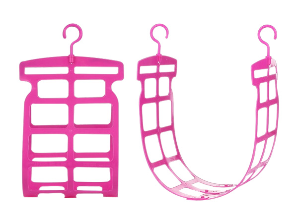 SANADA~強力枕頭曬架(粉色)1組入【D019736】