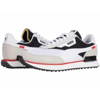PUMA プーマ メンズ 男性用 シューズ 靴 スニーカー 運動靴 Future Rider Core Puma White/Puma Black【送料無料】