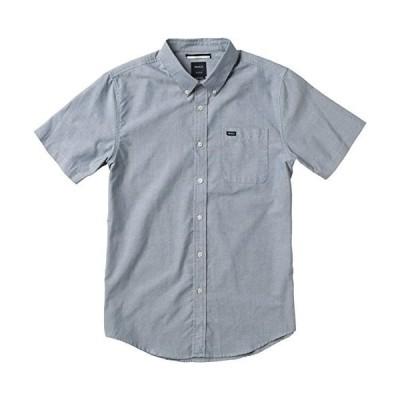 RVCAメンズthat ' ll Do Oxfordシャツ US サイズ: S カラー: ブルー