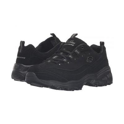 SKECHERS スケッチャーズ レディース 女性用 シューズ 靴 スニーカー 運動靴 D'Lites - Play On - Black