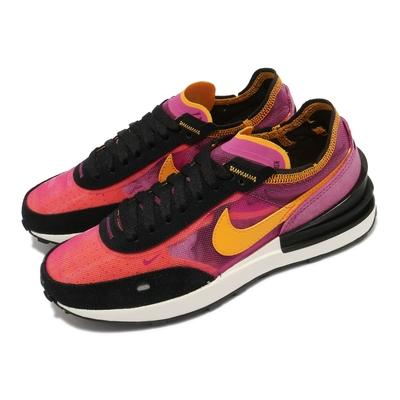 Nike 休閒鞋 W Waffle One 復古 女鞋 小Sacai 平民版 流行球鞋 紫 黑 DC2533600