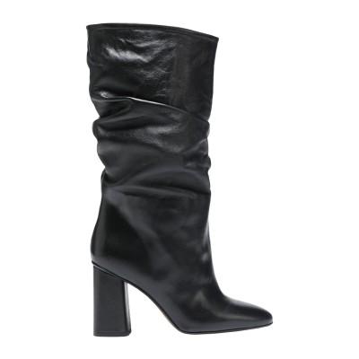 8 by YOOX ブーツ ブラック 38 牛革(カーフ) 100% ブーツ