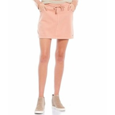 ロキシー レディース スカート ボトムス Coordinating Tie-Waist In A Dream Fleece Skirt Cafe Creme