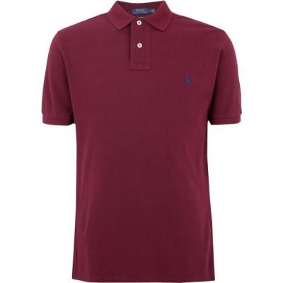 ラルフ ローレン POLO RALPH LAUREN メンズ ポロシャツ トップス Slim Fit Mesh Polo Shirt Maroon